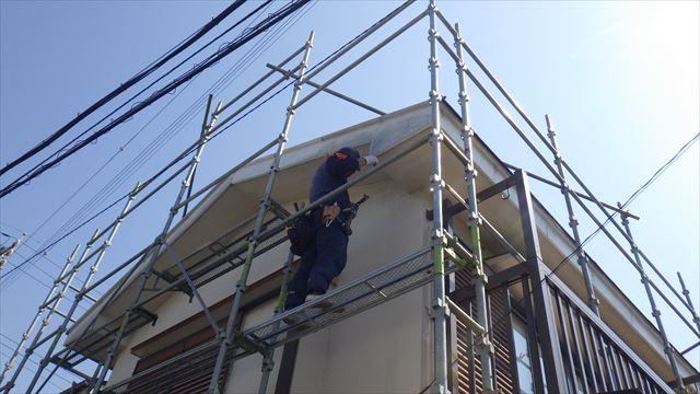 破風板補修 松本市
