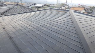 ソーラー温水器 撤去 屋根