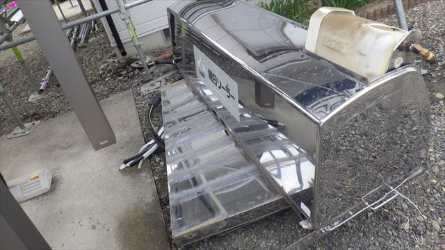 ソーラー温水器 屋根 朝日ソーラー
