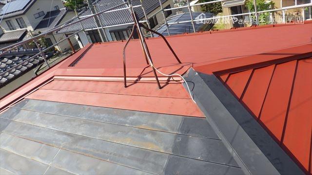 屋根 さび止め 下塗り
