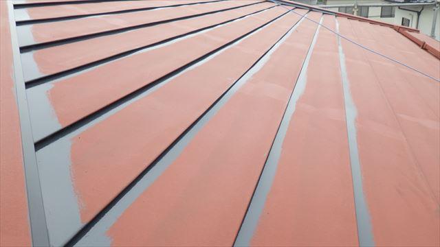 屋根板金 塗装 下塗り