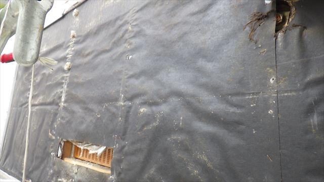 外壁 フェルト 雨漏り