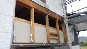 外壁 ベランダ 雨漏り 調査 修理