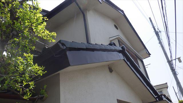 破風板 塗り替え