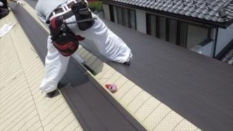 ガルバ 屋根 横葺き