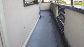 外廊下 FRP 防水 雨漏り