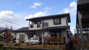 松川村M様邸施工前