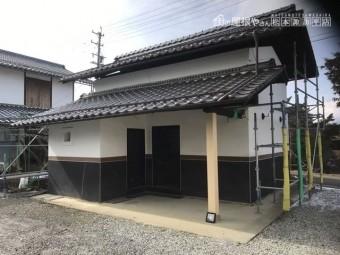 松本市寿 土蔵サイディング