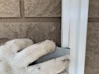 外壁フッ素塗装 目地カバー