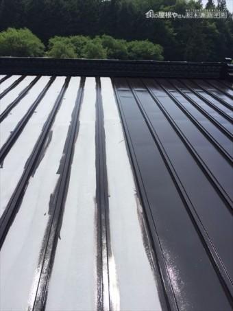 木曽郡大桑村Y邸屋根塗装