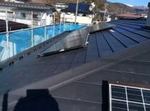 スレートカバー工法太陽光パネル再設置