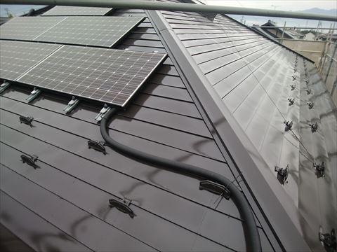 塩尻市鋼板屋根